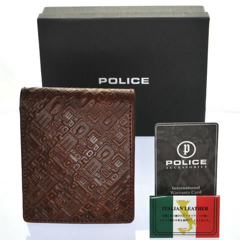 police 財布 モノグラム POLICE(ポリス)MONOGRAMⅡ 二つ折り財布police-wallet-monogram2