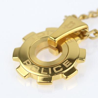 POLICE(ポリス)ネックレス 限定 REACTOR GOLDE リアクター ゴールド