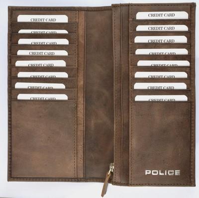 POLICE(ポリス)EDGE ダークブラウン【PA-58001-29】