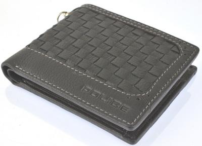 POLICE メンズ 二つ折り財布 MESH  ブラック【PA-57001-10】
