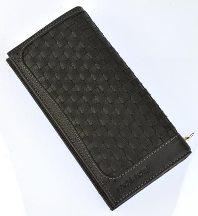財布 メンズ ポリス MESH  長財布 ブラック【PA-57002-10】