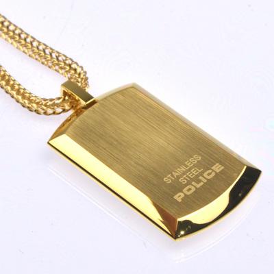 POLICE(ポリス)ネックレス PURITY ゴールド【24920PSG-A】
