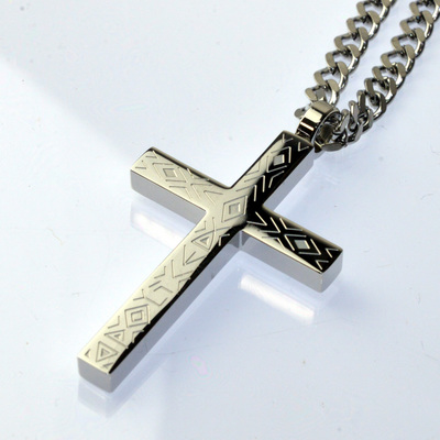 POLICE(ポリス)ネックレス 十字架SINNER【25504PSS01】