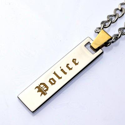POLICE(ポリス)ネックレス VERTICALゴールド【25502PSG02】