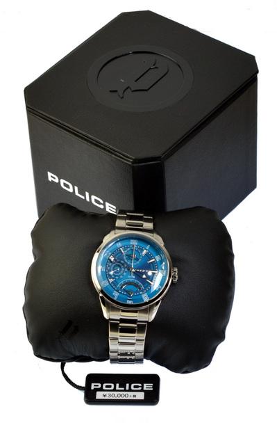 POLICE(ポリス)時計 FLASHブルーグリーン【14407JS-19M】