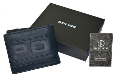 ポリス 財布 二つ折り METRO ネイビー【PA-58100-50】