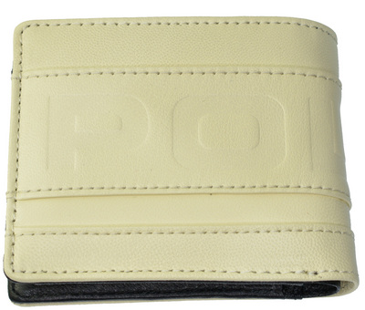 POLICE メンズ 二つ折り財布 METRO  ホワイト【PA-58100-40】