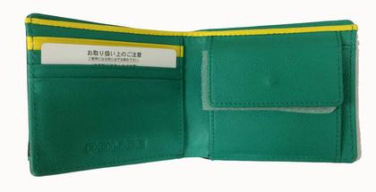 POLICE   財布 二つ折り COLORS  チョコ【PA-58400-29】