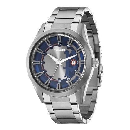 POLICE(ポリス)時計 SQUADRONスクアドロン ブルー&シルバー【14380JSU-03M】