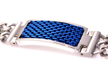 POLICE(ポリス)ブレスレット REFLECT ブルー【25554BSN-A】