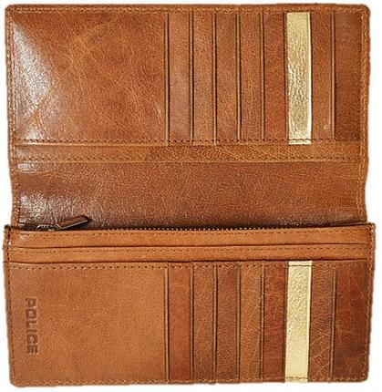 police-wallet_PA-59301-25 (2)POLICE 長財布  BASICⅣ  キャメル【PA-59301-25】