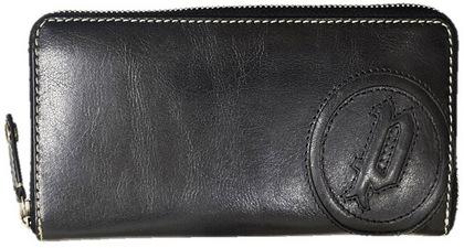 police-wallet_PA-59302-10 (2)POLICE 長財布 BASICⅣ ファスナー ブラック【PA-59302-10】