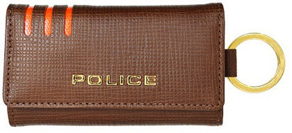police-wallet_PA-59500-25_00 (2)POLICE LINEA  キーケース  ブラウン【PA-59500-25】