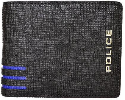police-wallet_PA-59501-10 (1)財布 メンズ ポリス 二つ折り LINEA ブラック【PA-59501-10】