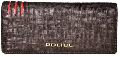 police-wallet_PA-59502-29 (2)POLICE 長財布  LINEA  ダークブラウン【PA-59502-29】