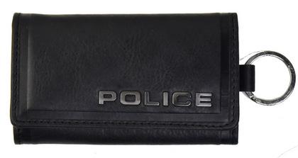 police-wallet_edge-58003-10_01POLICE(ポリス)EDGE キーケース ブラック【PA-58003-10】