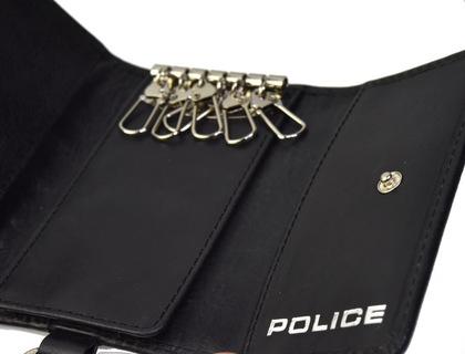 police-wallet_edge-58003-10_03POLICE(ポリス)EDGE キーケース ブラック【PA-58003-10】
