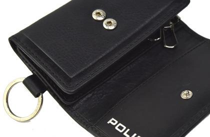 police-wallet_edge-58003-10_04POLICE(ポリス)EDGE キーケース ブラック【PA-58003-10】