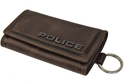 police-wallet_edge-58003-29_03POLICE(ポリス)EDGE キーケース ダークブラウン【PA-58003-29】