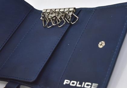 police-wallet_edge-58003-50_03POLICE(ポリス)EDGE キーケース  ネイビー【PA-58003-50】