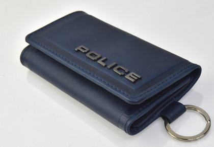 police-wallet_edge-58003-50_0POLICE(ポリス)EDGE キーケース  ネイビー【PA-58003-50】