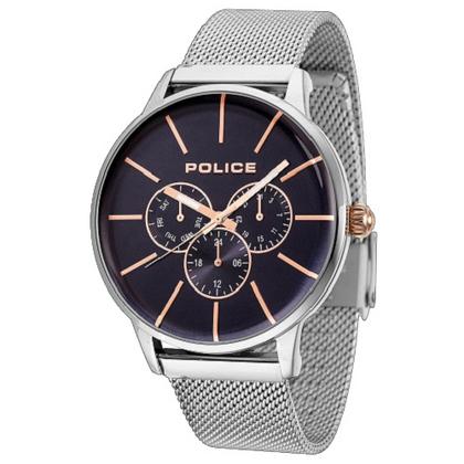 POLICE(ポリス)腕時計SWIFT スウィフト ダークブルー/ローズゴールド【14999JS-03MM】