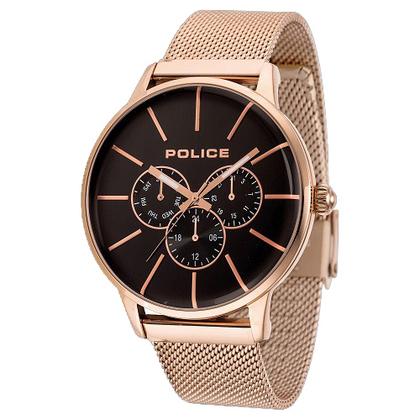 POLICE(ポリス)腕時計SWIFT スウィフト ブラック/ローズゴールド【14999JSR-02MM】