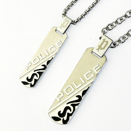 police_necklace_duality_pair_POLICE(ポリス) DUALITY ペアネックレス【24645PSB01&25989PSS01】