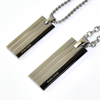 police_necklace_inline_01POLICE(ポリス) INLINE ペアネックレス【25503PSS01&26076PSS01】