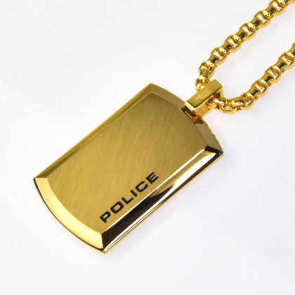 polis_necklace_purity_POLICE(ポリス)ネックレス PURITY ゴールド(NEW)【25988PSG02】