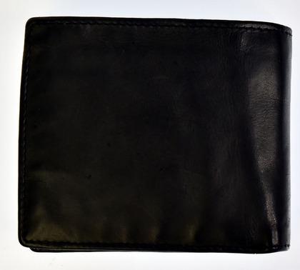 財布 メンズ ポリス 二つ折り LAVARE  ブラック【PA-59601-10】