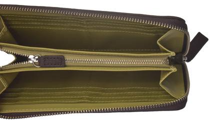 ポリス 長財布 BICOLORE ファスナー ブラウン【PA-59903-29】police-wallet_bicolore _3 (6).JPG