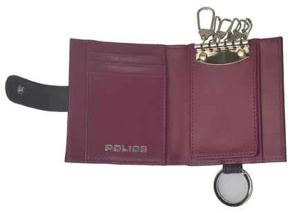 POLICE BICOLORE  キーケース  ネイビー【PA-59900-50】police-wallet_bicolore_key_case_ (3).JPG