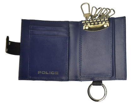 ポリス BICOLORE  キーケース ブラック【PA-59900-10】police-wallet_bicolore_key_case_ (6).JPG