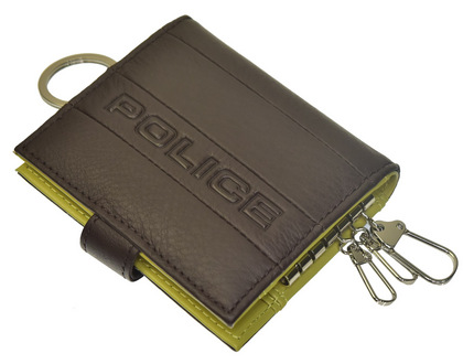 POLICE(ポリス)BICOLORE キーケース ブラウン【PA-59900-29】police-wallet_bicolore_key_case_ (9).JPG