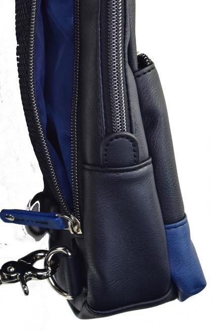 POLICE(ポリス) ボディバッグ タテ URBANO ブラック/ブルー【PA-62000-10】police_bag_urbano (13).JPG