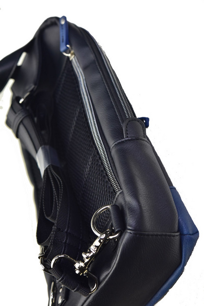 POLICE(ポリス) ボディバッグ タテ URBANO ブラック/ブルー【PA-62000-10】police_bag_urbano (16).JPG