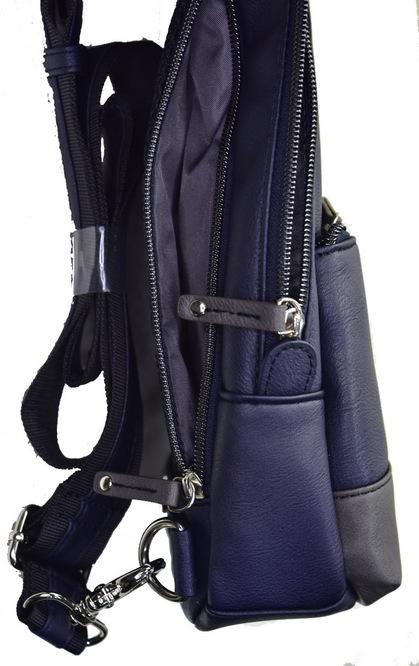POLICE(ポリス) ボディバッグ タテ URBANO ブラック/ブルー【PA-62000-10】police_bag_urbano (4).JPG