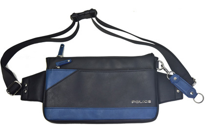 POLICE(ポリス) バッグ URBANO ブラック/ブルー【PA-62001-10】police_bag_urbanoPA_62001_ (14).JPG