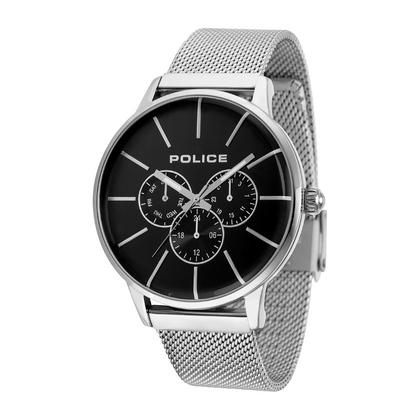 POLICE(ポリス)腕時計SWIFT スウィフト ブラック/シルバー【14999JS-02MM】