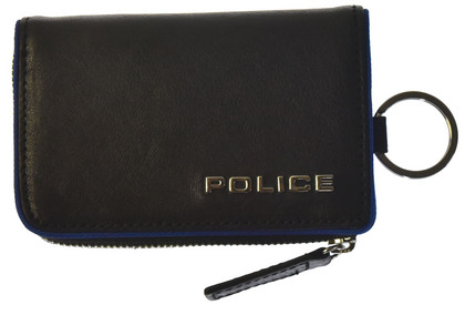 police-key-case_teraio_ポリス TERAIO  キーケース ブラック【PA-70000-10】
