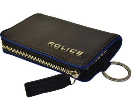 police-key-case_teraio_ ポリス TERAIO  キーケース ブラック【PA-70000-10】