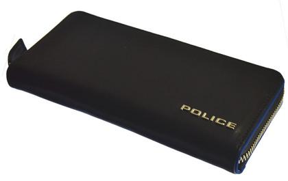 police-wallet_teraio (30)POLICE 長財布TERAIO ファスナー ブラック【PA-70003-10】