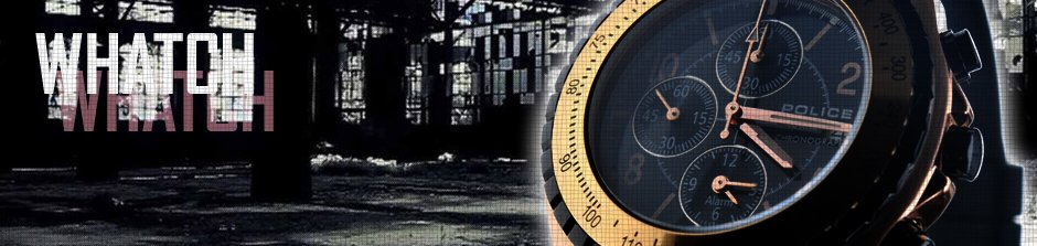 POLICE(ポリス)時計・腕時計は2018年は48機種で2018年は薄型多芯タイプの時計でビッグFACEになりそう、ポリスは先行して2016年後半から薄型多針タイプの腕時計を発表しています。