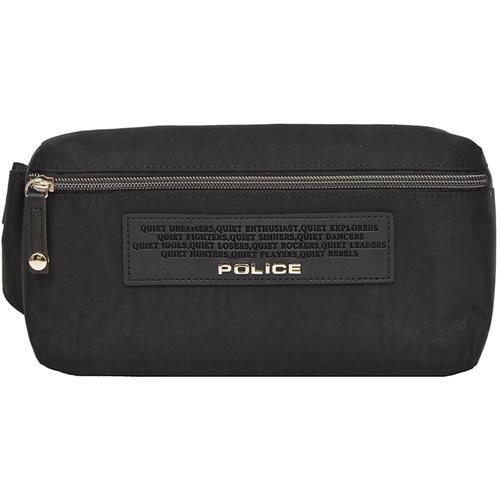 POLICE(ポリス) ボディバッグ CRESPA ブラック【PA-64000-10】