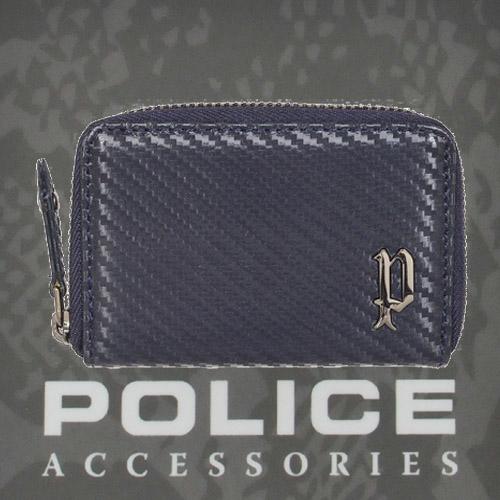 POLICE(ポリス)LUCENTE コインケース ネイビー【PA-70204-50】
