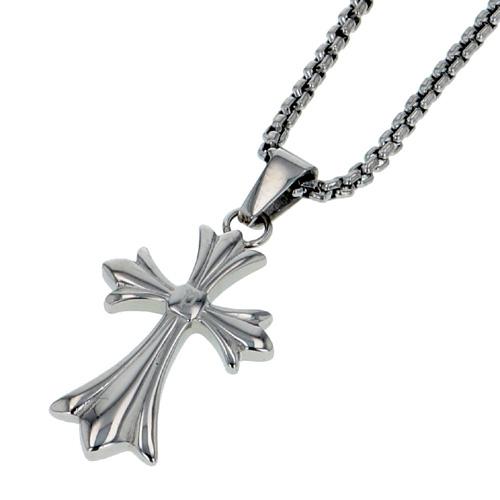 POLICE(ポリス)ネックレス 十字架シルバー GRACE(ミニサイズ)(小)【26375PSS01】
