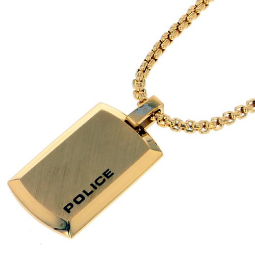 POLICE(ポリス)ネックレス PURITY ゴールド(ミニサイズ)(小)【26376PSG02】