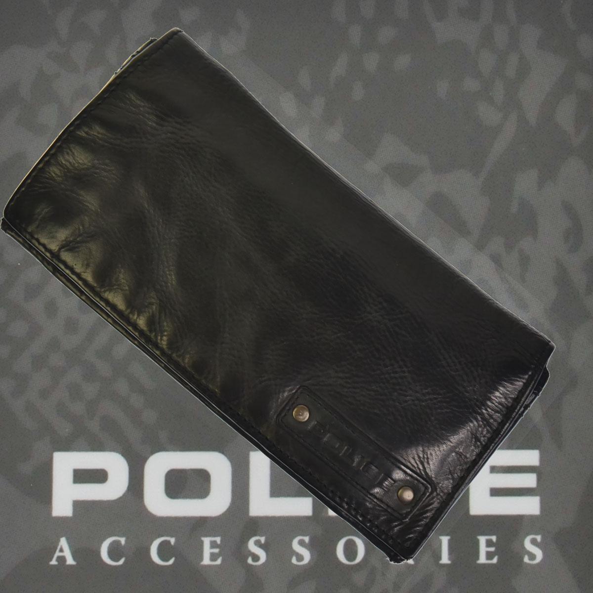 財布 メンズ ポリス LAVARE ブラック【PA-59602-10】