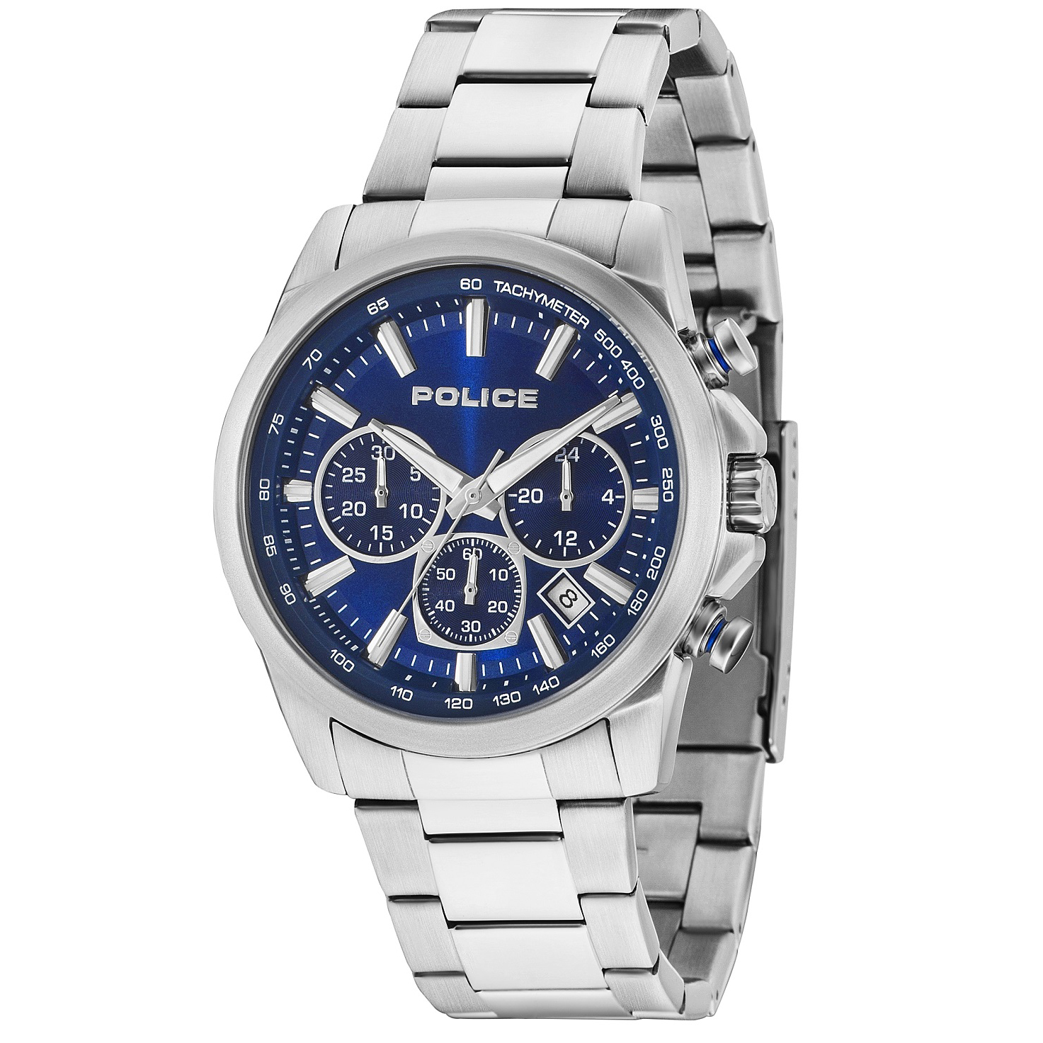 POLICE(ポリス)腕時計GRAMERCY グラマシー ブルー【14964JS-03M】